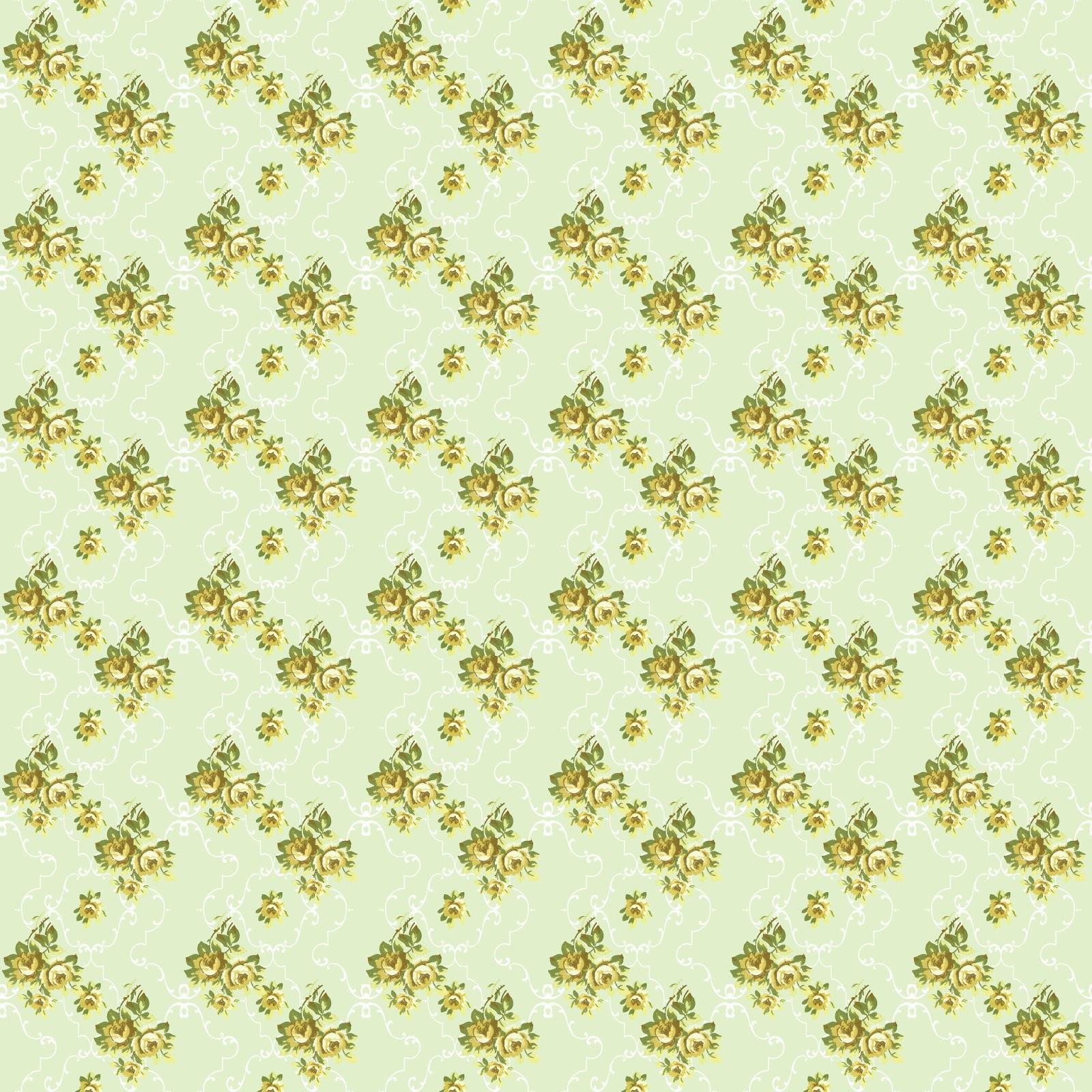 Scrapbook paper download - Flower Rose Digital Paper Download Image