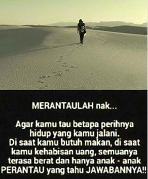 Image Result For Kata Mutiara Anak Rantau Rindu Ibu