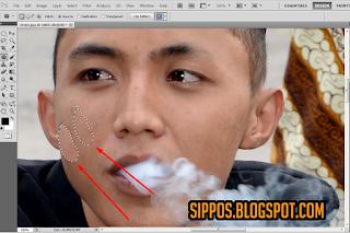 cara menghilangkan photoshop