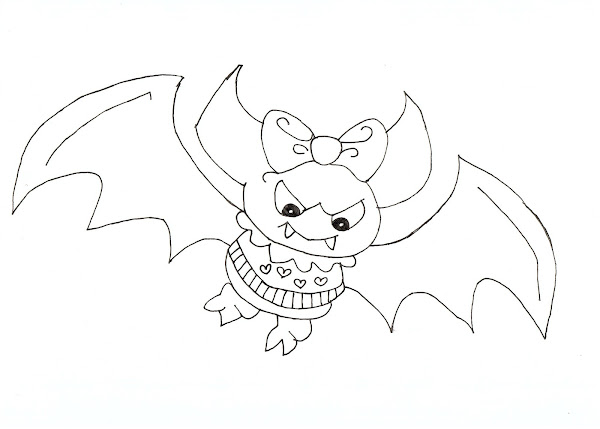 baby draculaura coloring pages - photo#35