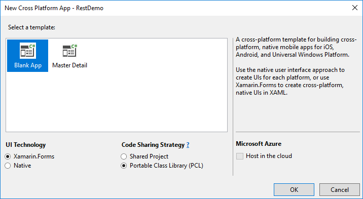 Xamarin.Forms: Consuming Rest Webservice - JSON Parsing (C# - Xaml ...