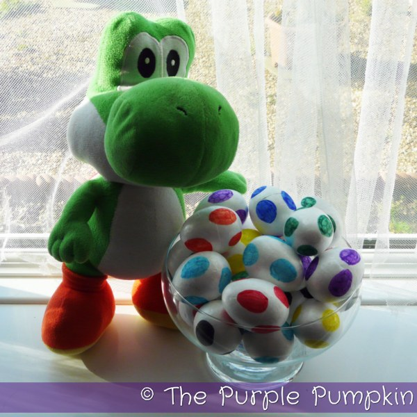 Yoshi Eggs | The Purple Pumpkin Blog