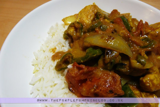 Chicken Jalfrezi - Low calorie - under 300 calories per portion
