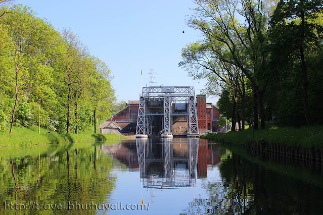 UNESCO Four lifts on the canal du centre, la louviere
