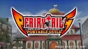 LINK Fairy Tail Portable Guild PSP CLUBBIT