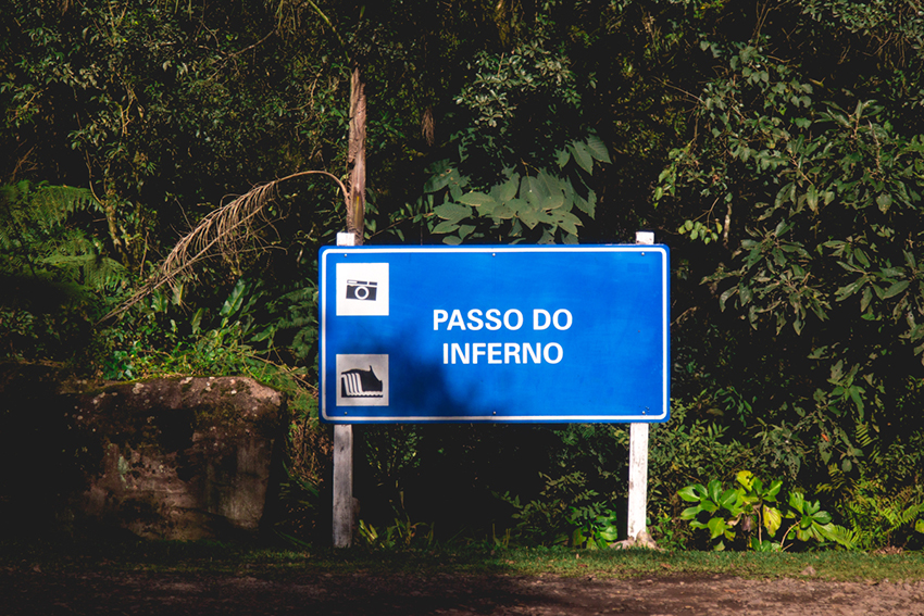 placa da ponte passo do inferno