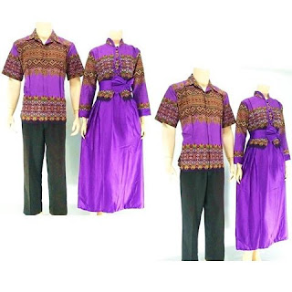 batik-pasangan-juwita-gamis-muslim-Ungu