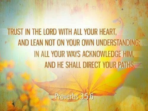 Living for God: Trust in the Lord