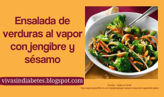Ensaladas Para Diabéticos: Espinacas y Vinagreta de Ajo