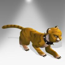 Tawny Cat Cub - Pirate101 Hybrid Pet Guide