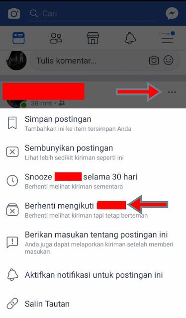 Mengatasi Teman Facebook Yang Mengganggu, Tapi Gak Berani Di Unfriend
