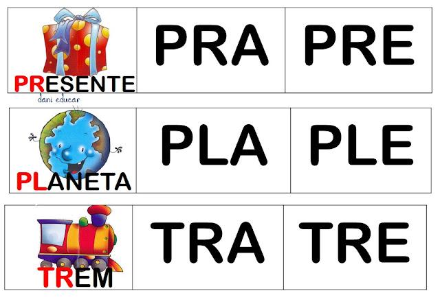 PALAVRAS COM TRA TRE TRI TRO TRU
