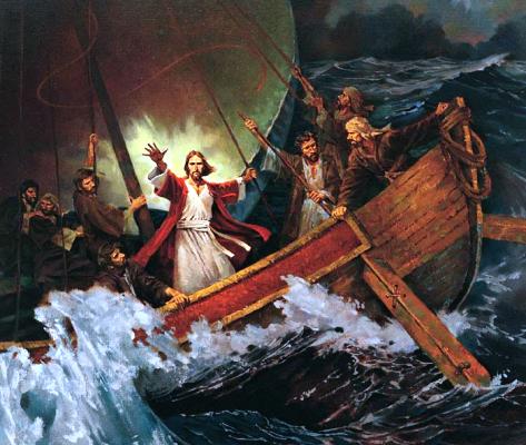 Resultado de imagem para jesus E a tempestade