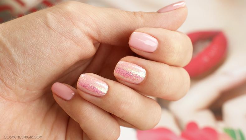 semilac pink peach milk 047