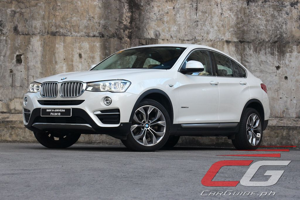 Review 2017 Bmw X4 Xdrive20d Xline Philippine Car News