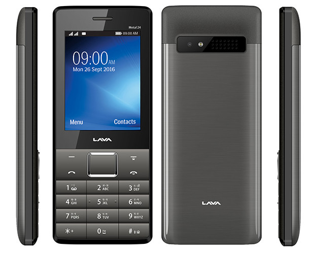 Lava Metal 24 Feature Phone With Dual-SIM Support Launched at Rs. 2,000