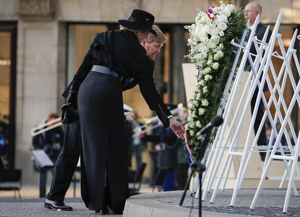 King Willem-Alexander and Queen Maxima attended 2020 Remembrance Day ceremony at Dam Square in Amsterdam