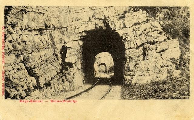 Tuneluri pe traseul cãii ferate Oraviţa - Anina