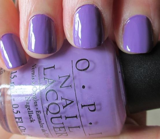 Opi Nail Polish Light Purple - Creative Touch