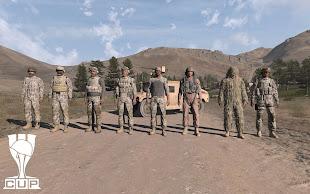 Arma3用CUP MODのアメリカ陸軍ユニット