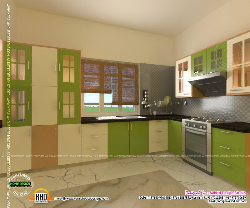 Kerala House Designs Plans Interior: Kitchen Designs By Aakriti Design Studio