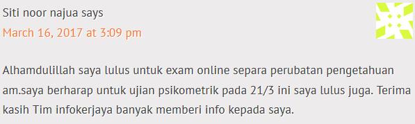 Rujukan Exam Online Separa Perubatan 2017