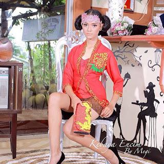 Model Kebaya Encim Lengan Pendek