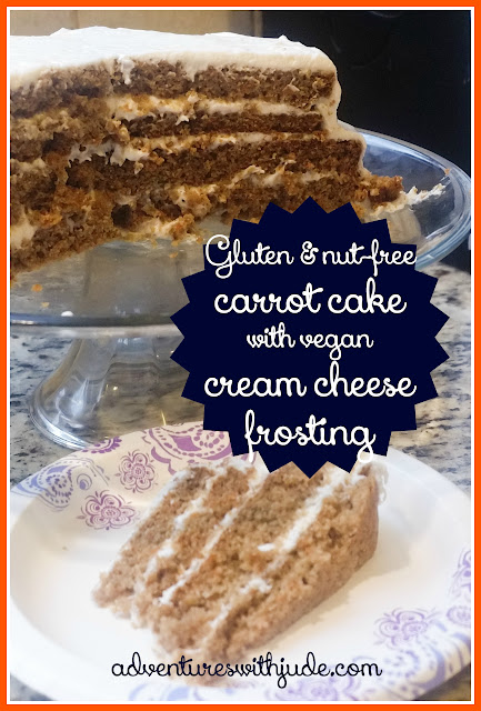Allergy friendly carrot cake
