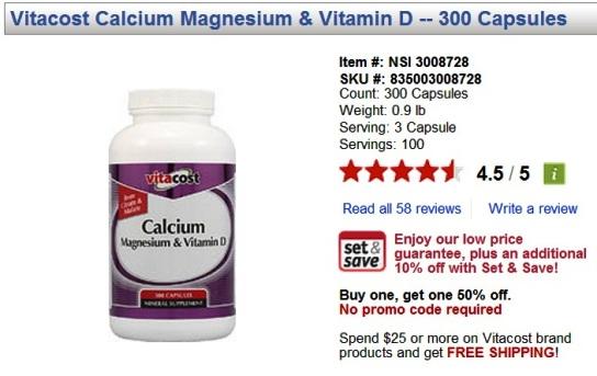 vitacost online shopping calcium promo