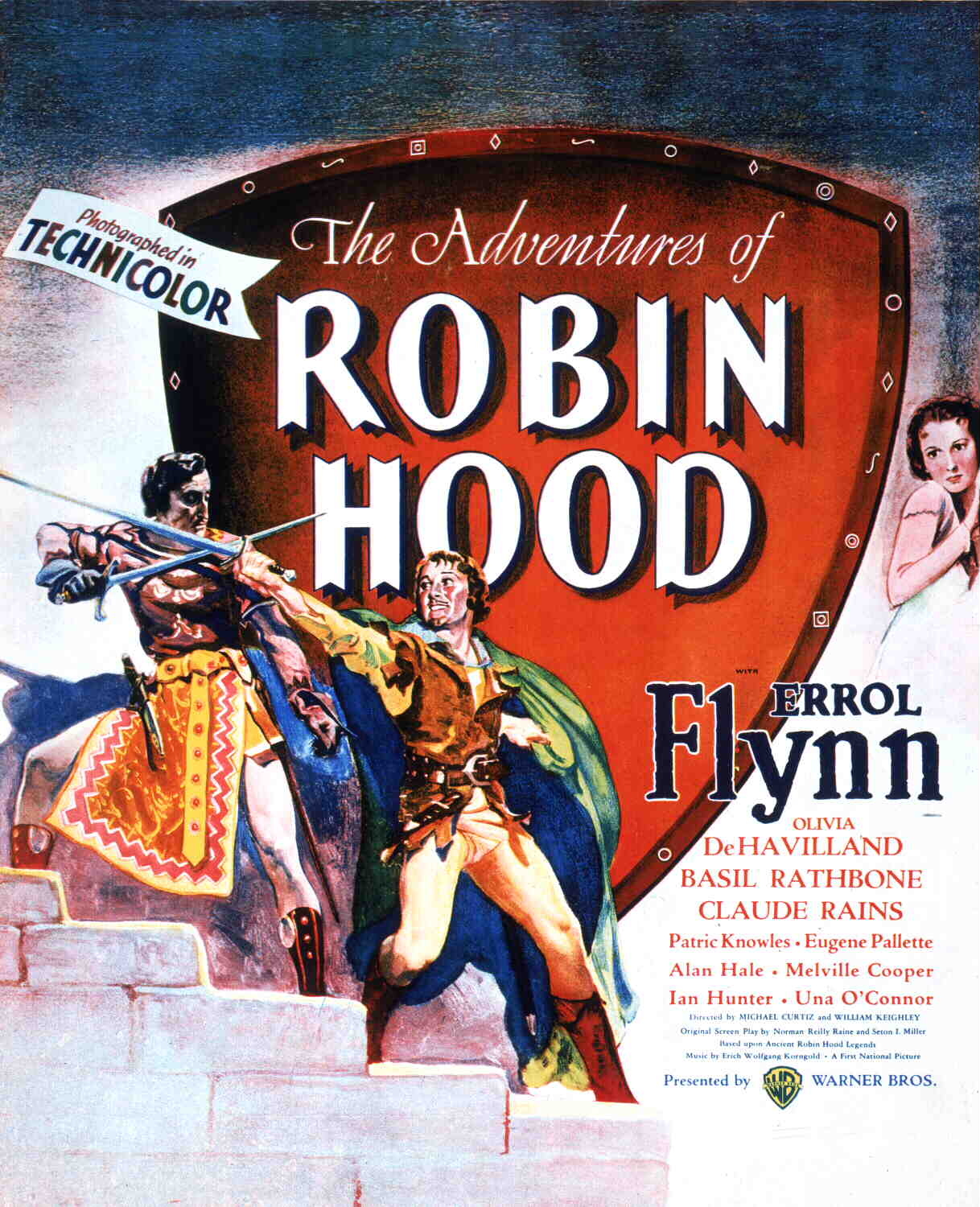 TCM's The Adventures of Robin Hood page: