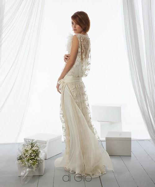 abito Le Spose di Giò 2014 stile shabby