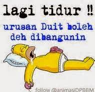 DP BBM Tidur KEREN