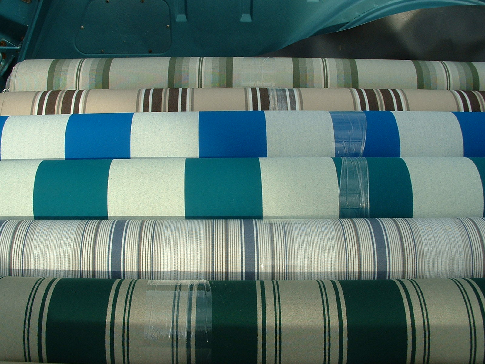 The 2013 Vintage Trailer Awning Fabric Is Now Here