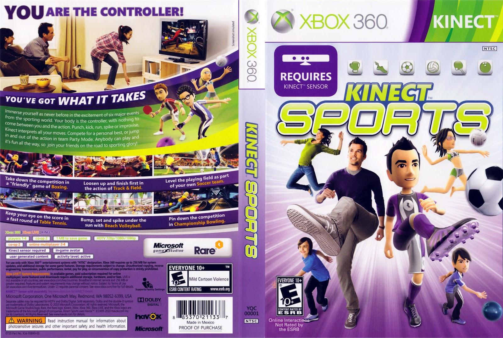 Top 5 Los Mejores Juegos Para Xbox Kinect Las Cronicas De Paola