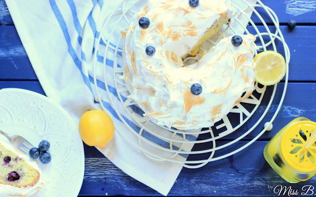 Blaubeer-Zitronen-Gugelhupf mit der neuen Küchenmaschine von Kenwood
