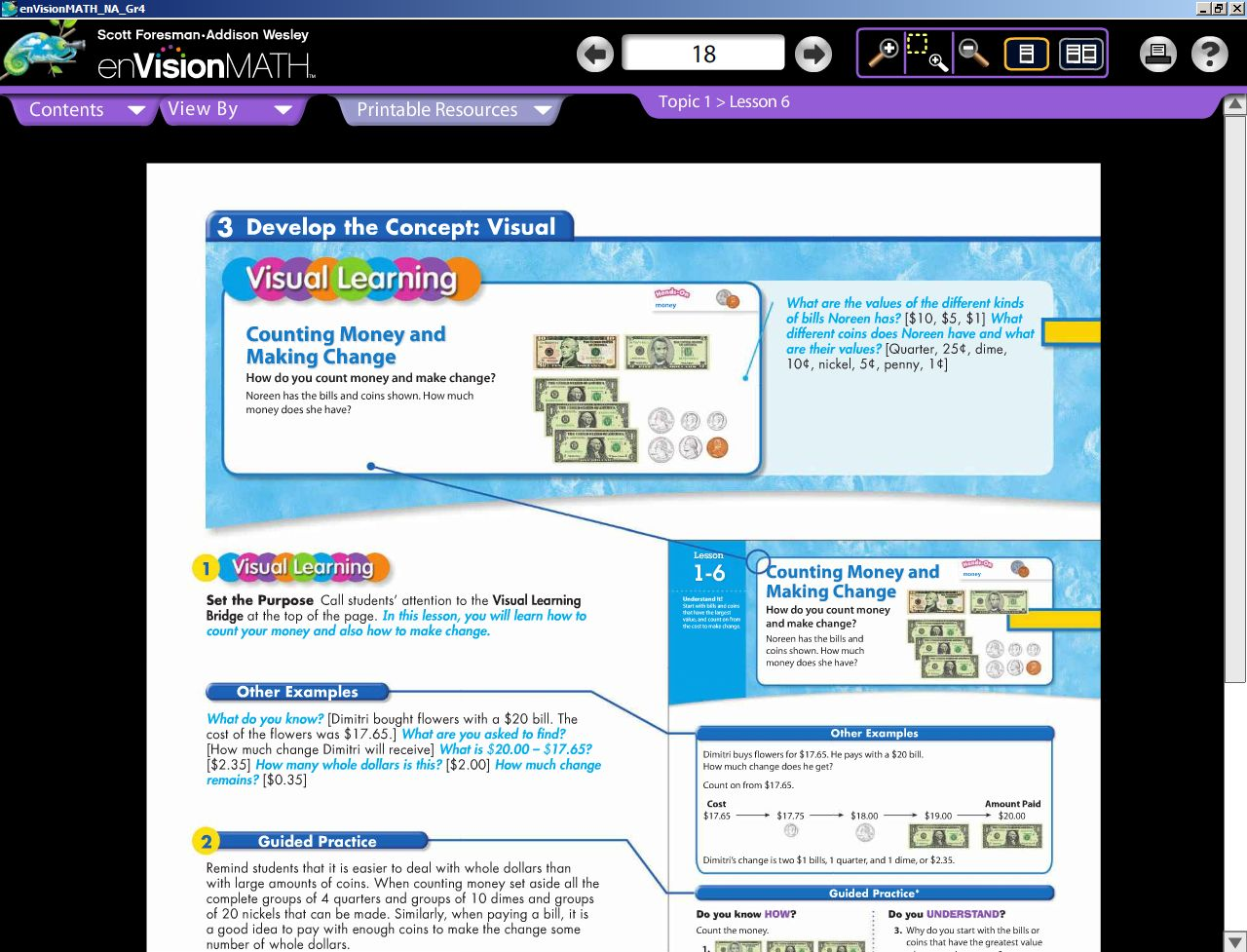 Our Homeschool Reviews Pearson Homeschool Envisionmath Review