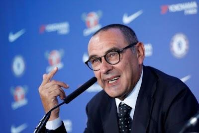 Ini Reaksi Maurizio Sarri Tentang Spekulasi Perpindahan Eden Hazard Dan Thibaut Courtois Ke Real Madrid!
