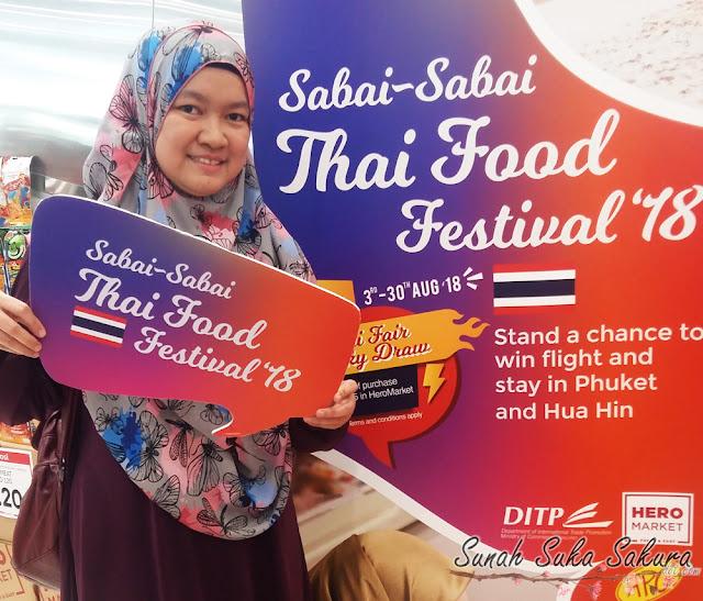Jom ke Sabai Sabai Thai Food Festival 2018!