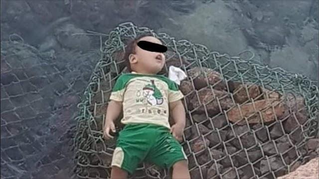 كاميرات المراقبة تكشف جريمة قتل طفل على يد أمه