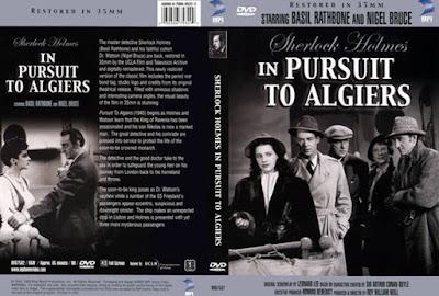 Caratula dvd: Sherlock Holmes: Persecución en Argel (1945) Pursuit to Algiers