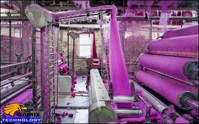 Ai biết ở đâu bán hóa chất khử màu nước thải dệt nhuộm – Quá trình Nhuộm và hoàn thiện vải