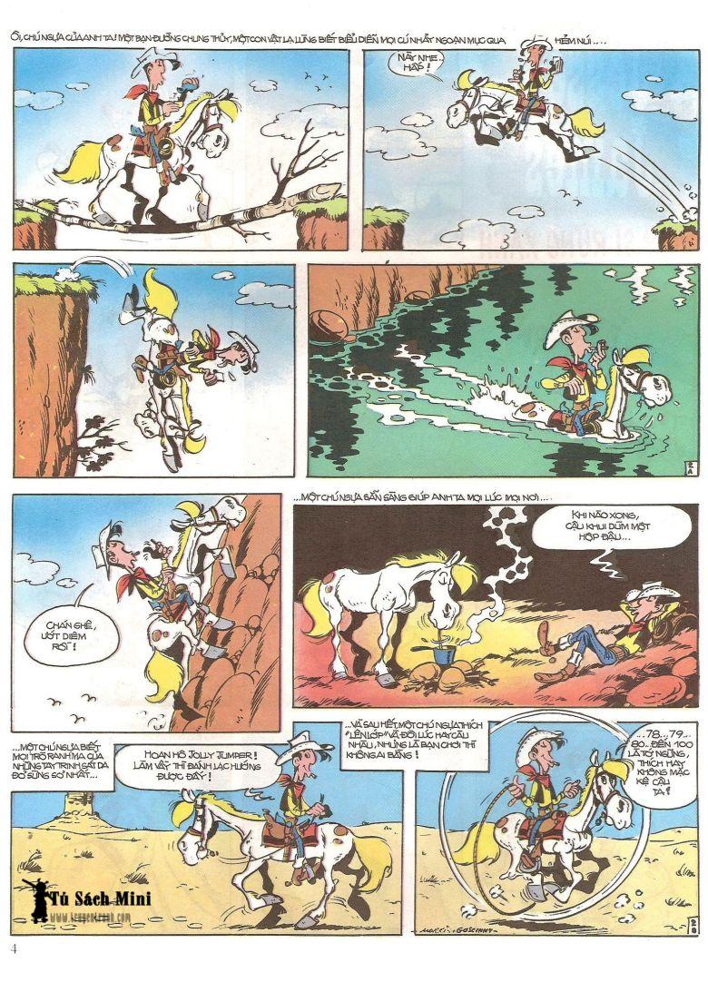 Lucky Luke tap 16 - jesse james hiep si rung xanh trang 6
