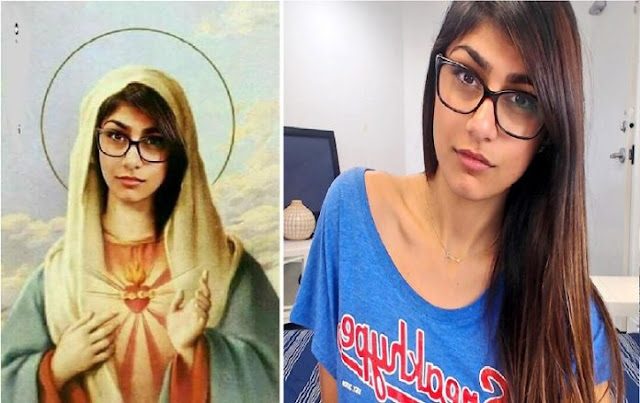 mia-khalifa-tweets-picture-posing-as-virgin-mary