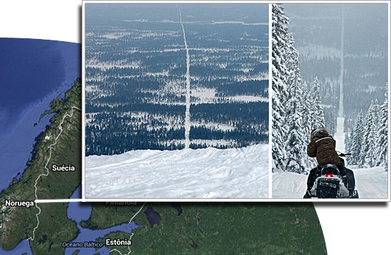 Fronteiras pelo mundo-Noruega e Suécia