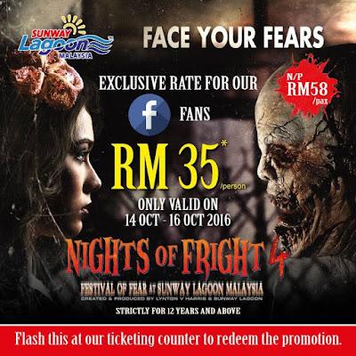 Sunway Lagoon Malaysia Halloween Discount Deals