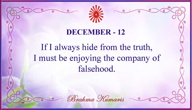Thought For The Day December 12