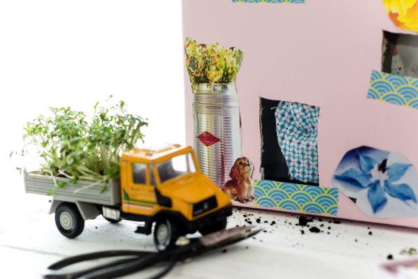 Kresse auf der Fensterbank: Eine tolle Bastelidee für Kinder