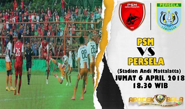 Prediksi PSM Makassar vs Persela 6 April 2018