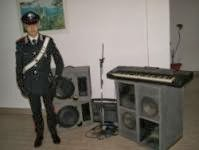 Carabinieri strumenti musicali