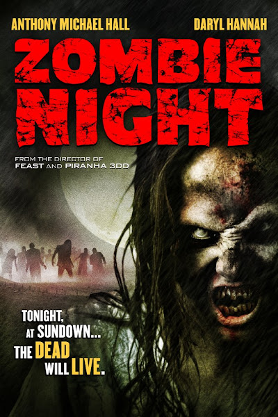 Poster of Zombie Night 2013 UnCut 720p BRRip Dual Audio Full Movie Download